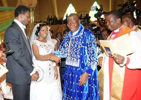 President Jonathan's Daughter Faith Sakwe weds Godswill Edward
