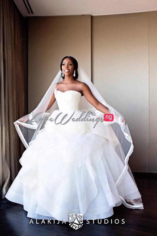 Tiwa Savage Tee Billz Dubai Wedding Loveweddingsng