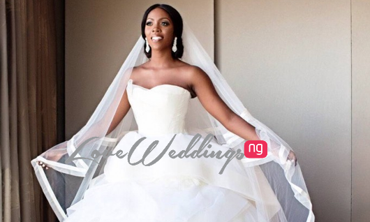 #TiwaandTBillz2014: First Photos from Tiwa Savage and Tunji 'Tee Billz' Balogun's Wedding