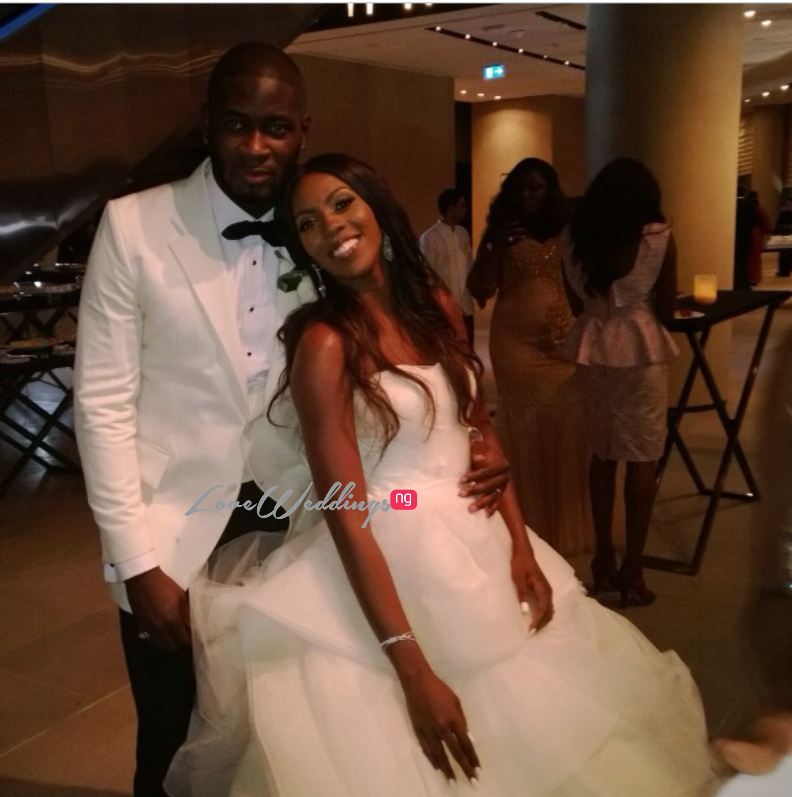 Tiwa Savage Tee Billz Wedding Picture Loveweddingsng