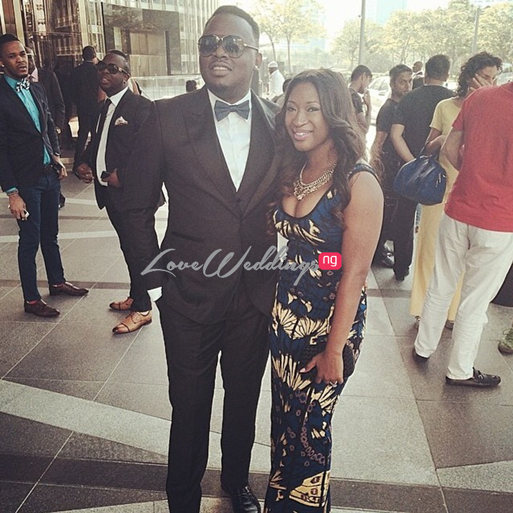 Dr Sid and fiancee - Simi Osomo