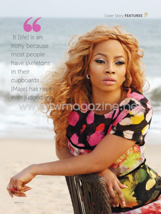 Toke Makinwa Maje Ayida TW Magazine March 2014 Loveweddingsng