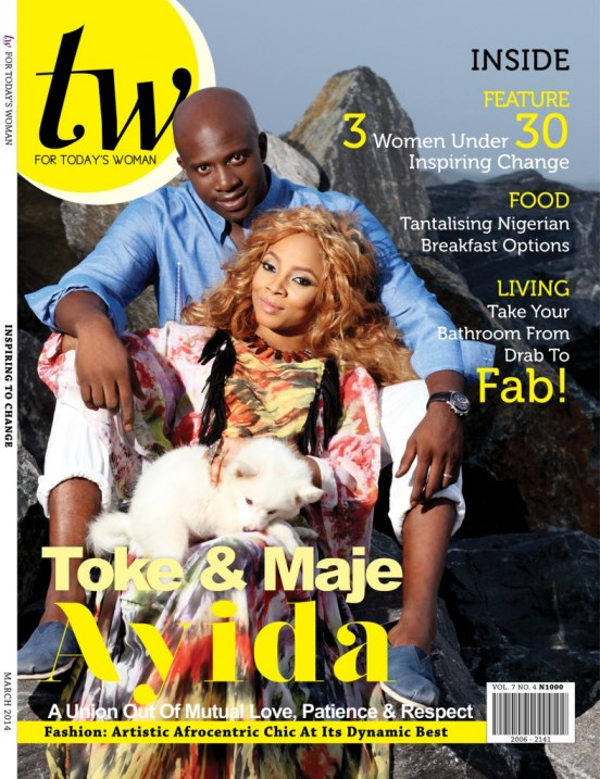 Toke Makinwa Maje Ayida TW Magazine March 2014