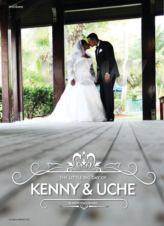 Uche Jombo weds Kenney Rodriguez Loveweddingsng1