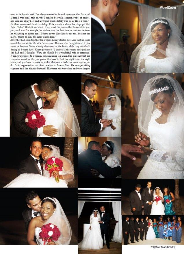 Uche Jombo weds Kenney Rodriguez Loveweddingsng2