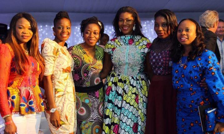 Vlisco's 2014 Women's Month Awards Night: Joke Silva, Stephanie Linus, Adesuwa Oyenokwe, Waje and others