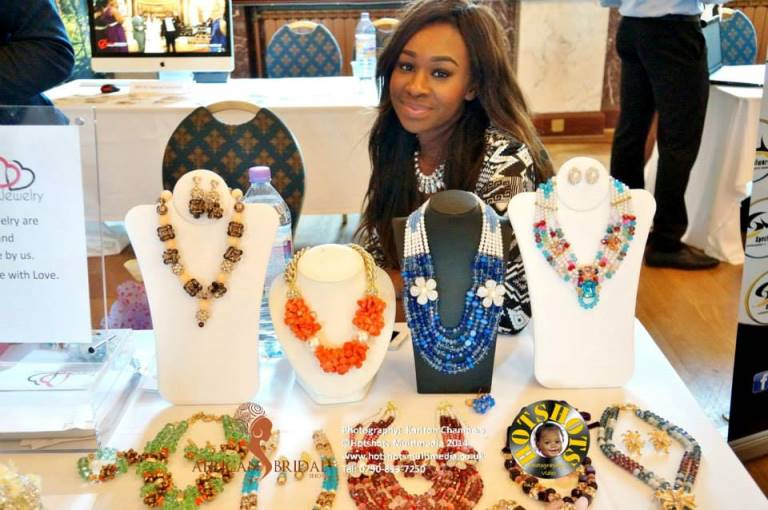 African Bridal Show May 3 2014 Loveweddingsng - Beads3