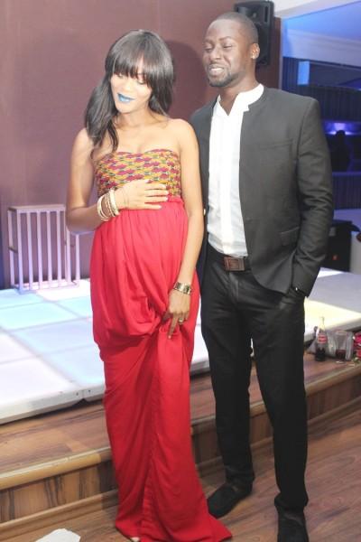 The celebrants - Damilola Adegbite & Chris Attoh