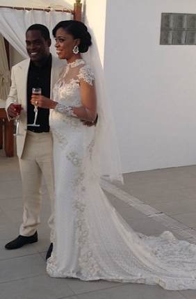 Daisy Danjuma's son weds1