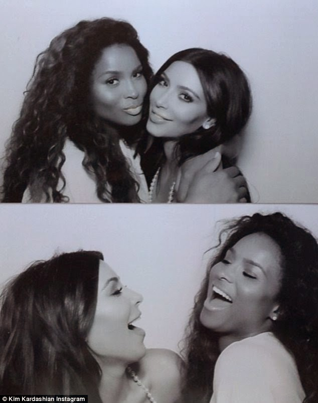 Kim Kardashian Bridal Shower Loveweddingsng - Ciara
