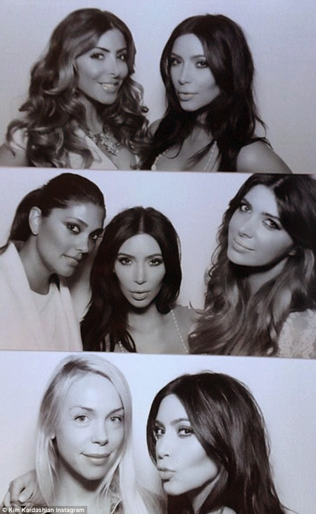 Kim Kardashian Bridal Shower Loveweddingsng4