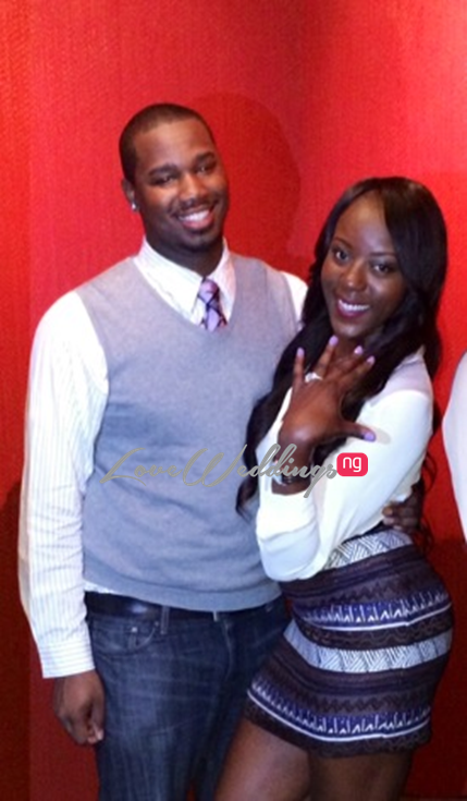 Loveweddingsng Proposal: Joanne and Chris