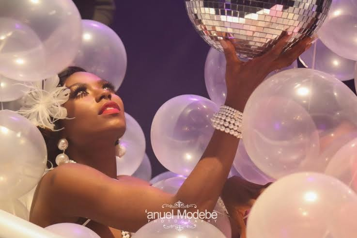 Exclusive pictures from Niyola's 'Love to Love You' video shoot