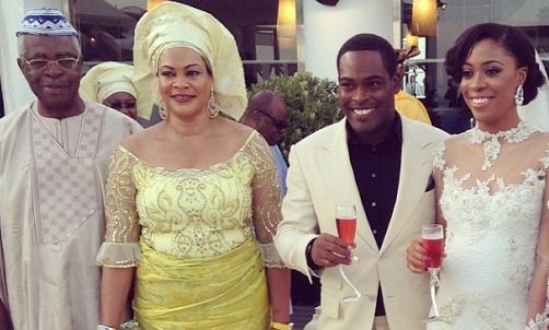 Daisy Danjuma's son – Yuki Omenai weds Mariam Omobolanle