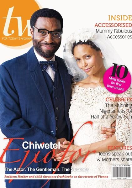 TW Magazine May 2014 - Chinwetel Ejiofor Thandie Newton Loveweddingsng