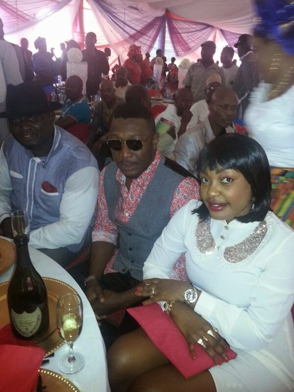 Tchidi Chikere shares pics with new wife, Nuella Njubigbo