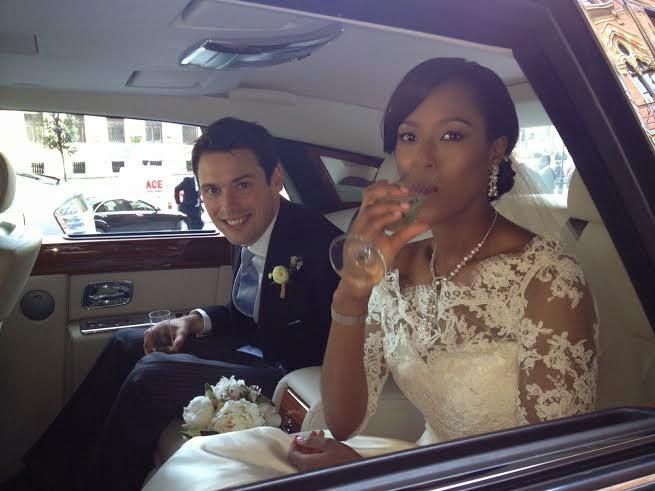 Real Weddings: Uvie Ibru weds Maxwell Peile