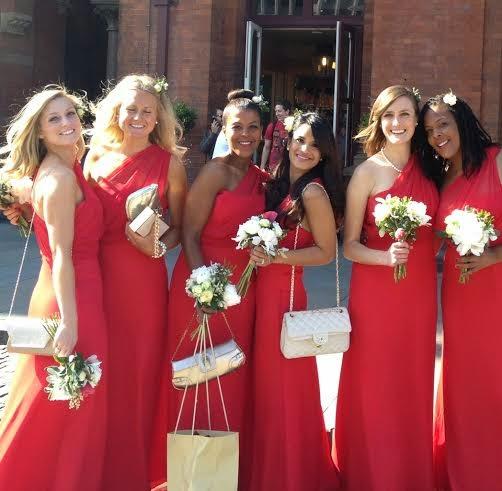 Uvie Ibru and Maxwell Peile's wedding loveweddingsng7