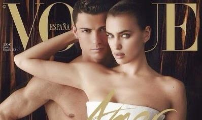 Cristiano Ronaldo and girlfriend – Irina Shayk cover Vogue Spain