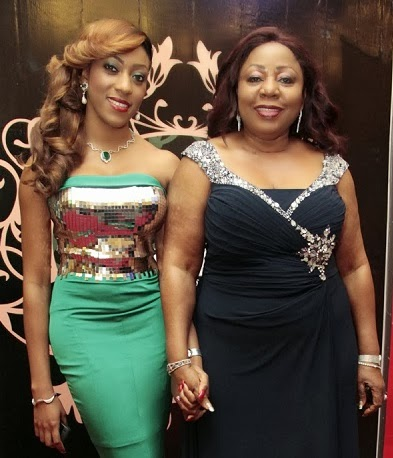 Senator Florence Ita Giwa and her daughter - Koko