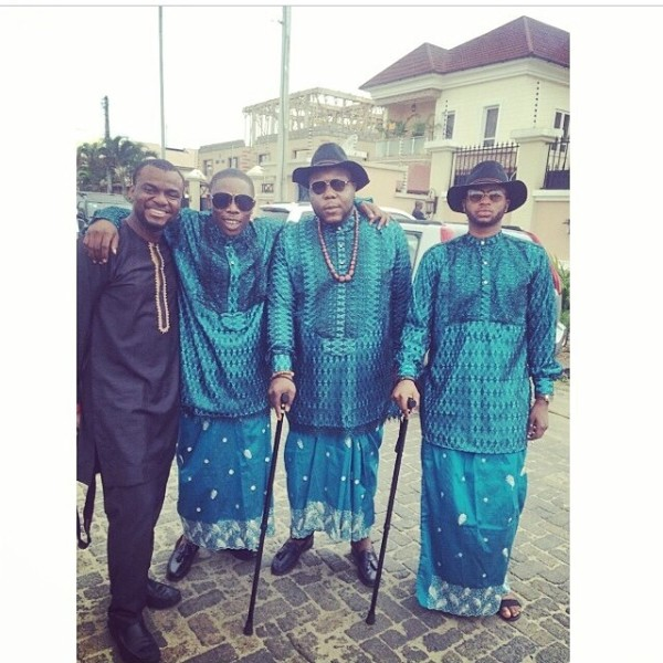 Dr Sid Simi Osomo Traditional Wedding Loveweddingsng - Jide Alakija, Peju Adewusi, Bizzle Osikoya and Papa Omisore