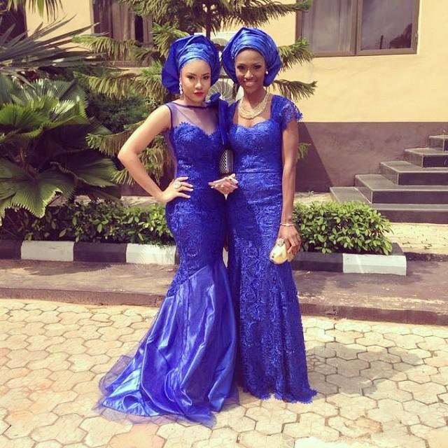Jude Okoye Ifeoma Umeokeke Aso Ebi Loveweddingsng - Anna Ebiere, Dorathy Alieze