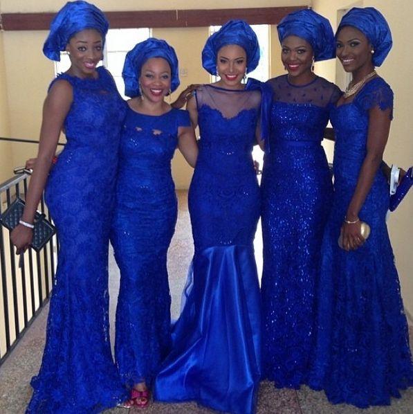Jude Okoye Ifeoma Umeokeke Aso Ebi Loveweddingsng1