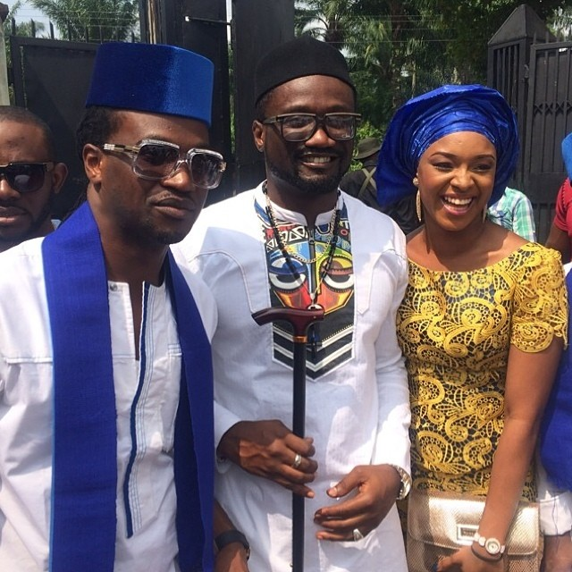 Jude Okoye Ifeoma Umeokeke Traditional Wedding Loveweddingsng - Anita Isama Okoye, Paul Okoye