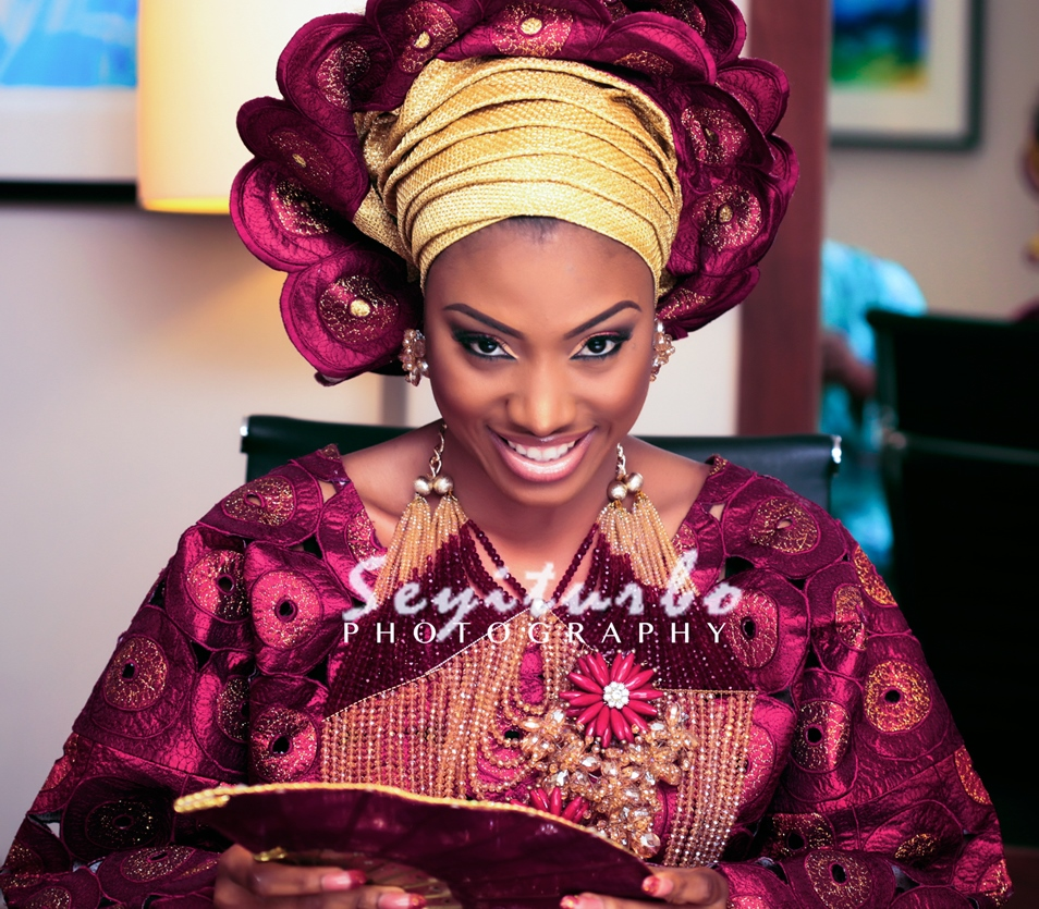 Loveweddingsng Bimbo Doyle weds Kelechi30
