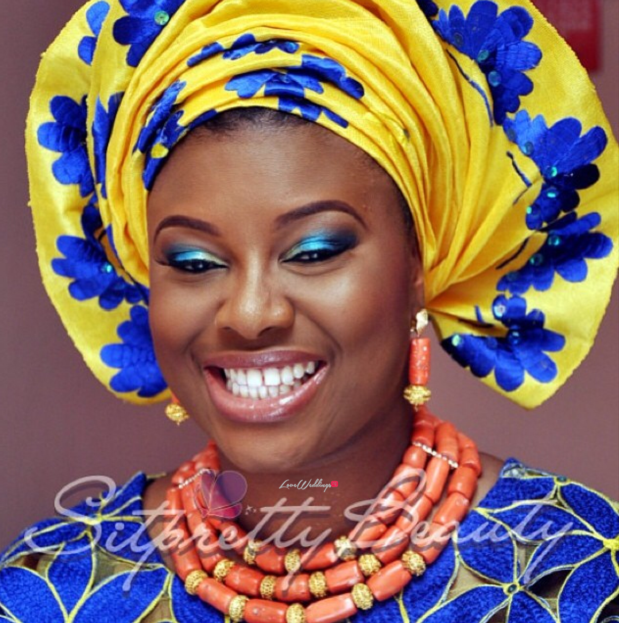 Loveweddingsng Traditional Bridal Looks We Love - Sit Pretty Maverick2