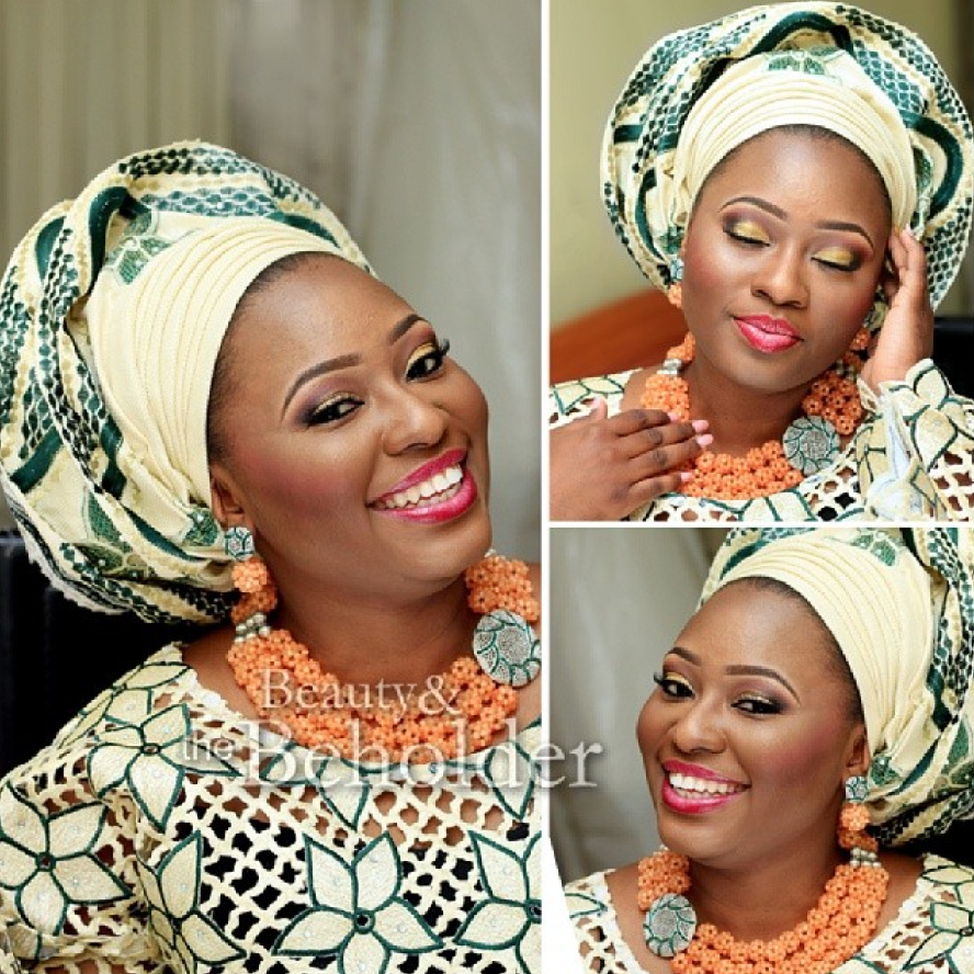Bride: Damilola | Makeup: Beauty & The Beholder |