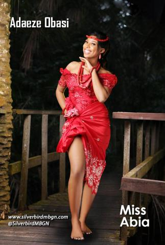 MBGN 2014 Miss Abia - Adaeze Obasi Nigerian Traditional Outfit Loveweddingsng