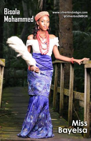 MBGN 2014 Miss Bayelsa - Bisola Mohammed Nigerian Traditional Outfit Loveweddingsng