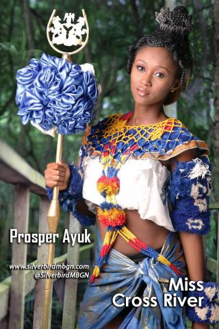 MBGN 2014 Miss Cross River - Prosper Ayuk Nigerian Traditional Outfit Loveweddingsng