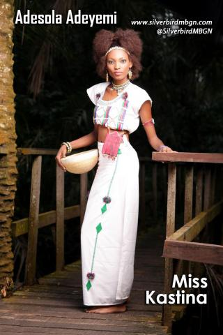 MBGN 2014 Miss Kastina - Adesola Adeyemi Nigerian Traditional Outfit Loveweddingsng