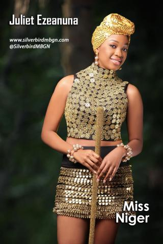 MBGN 2014 Miss Niger - Juliet Ezeanuna Nigerian Traditional Outfit Loveweddingsng