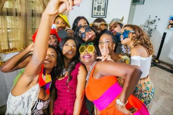 Pictures from Dr Sid's fiancee – Simi Osomo's Bridal Shower