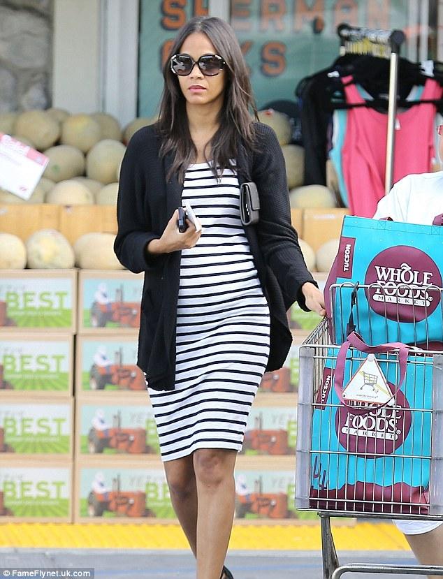 Zoe Saldana Pregnant Twins Loveweddingsng
