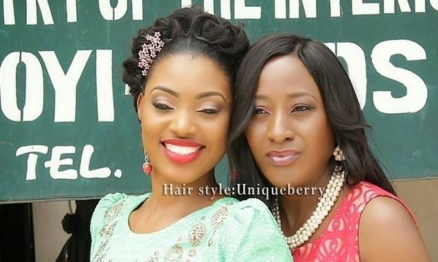 Iretiola Doyle's Daughter – Bimbo Weds at Ikoyi Registry