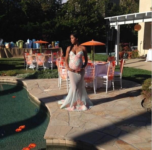 Apryl Jones OMarion Baby Shower Loveweddingsng