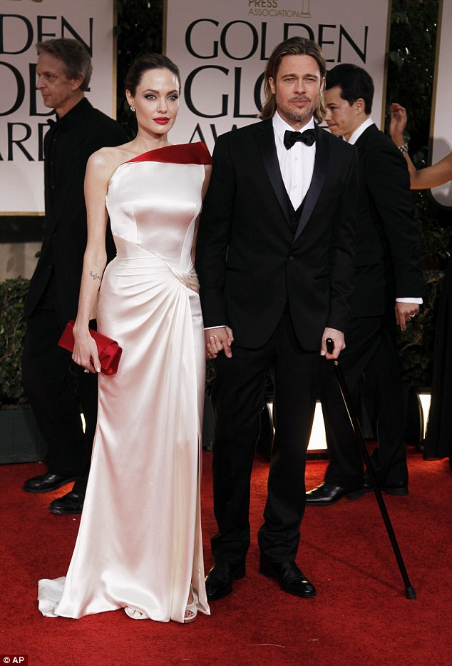 Brad Pitt Angelina Jolie Married Loveweddingsng19