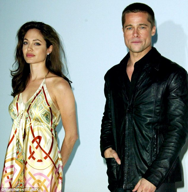 Brad Pitt Angelina Jolie Married Loveweddingsng3