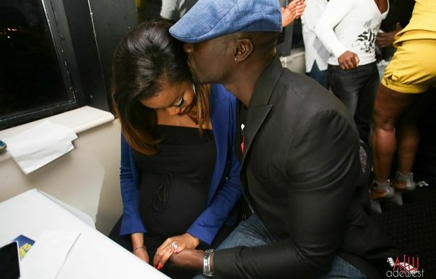 Chris Attoh Damilola Adegbite Loveweddingsng7