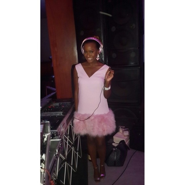 Dr Sid Simi Osomo White Wedding Loveweddingsng - DJ Cuppy
