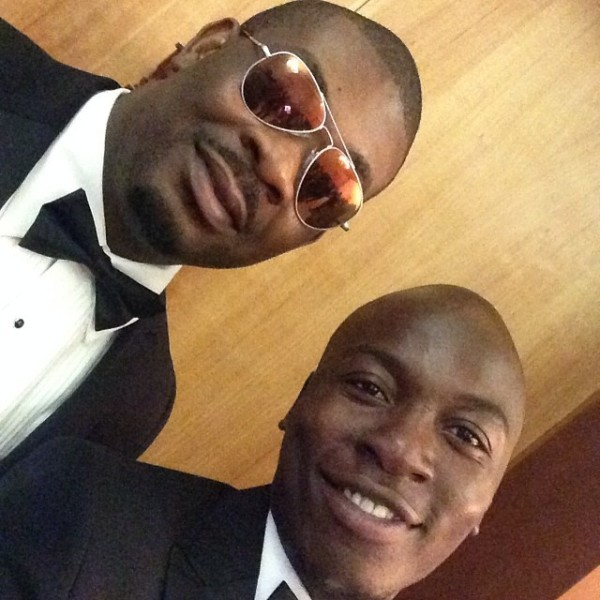 Dr Sid Simi Osomo White Wedding Loveweddingsng - Don Jazzy and Eddie Kadi