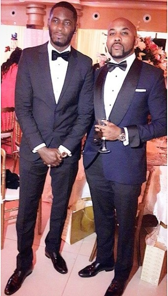 Dr Sid Simi Osomo White Wedding Loveweddingsng - Tee Billz, Banky W