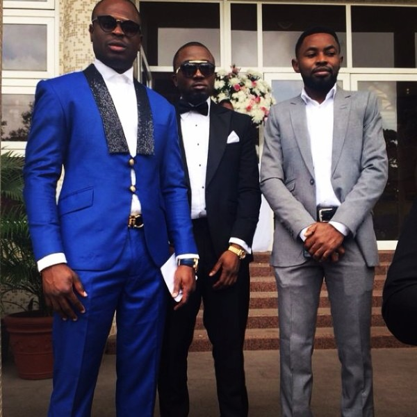 Dr Sid Simi Osomo White Wedding Loveweddingsng - Tobi, Ice Prince