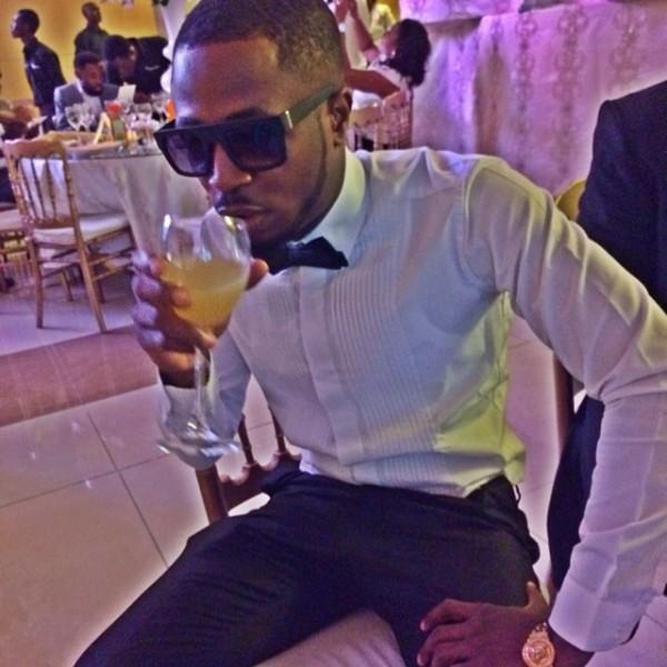 Dr Sid Simi Osomo White Wedding Loveweddingsng - Tunde Ednut
