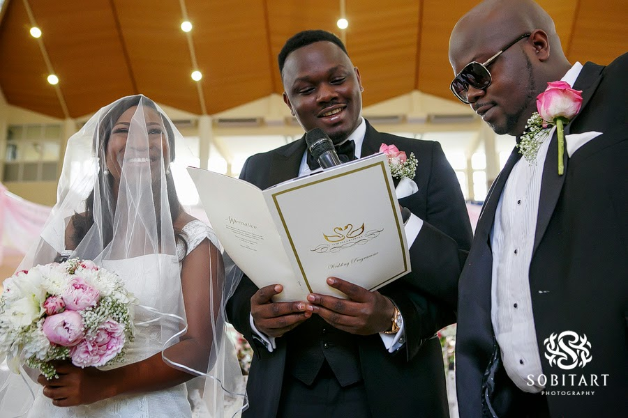 Dr Sid Simi Osomo White Wedding Loveweddingsng new1