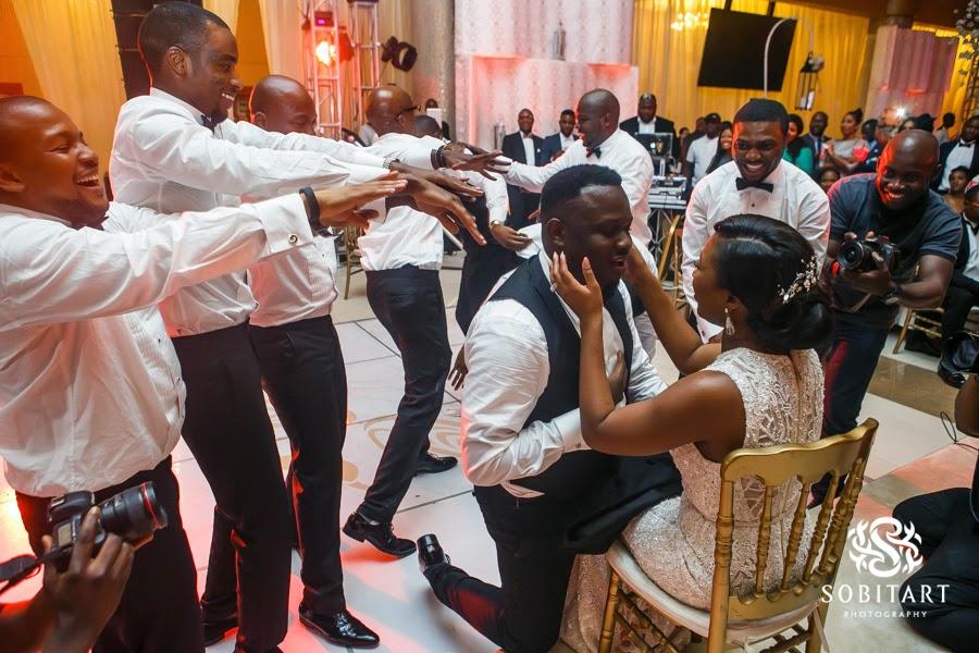 Dr Sid Simi Osomo White Wedding Loveweddingsng new22